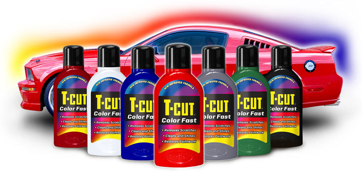 T-Cut Colour fast range for international customers