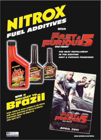 Nitrox and Fast 5 Poster