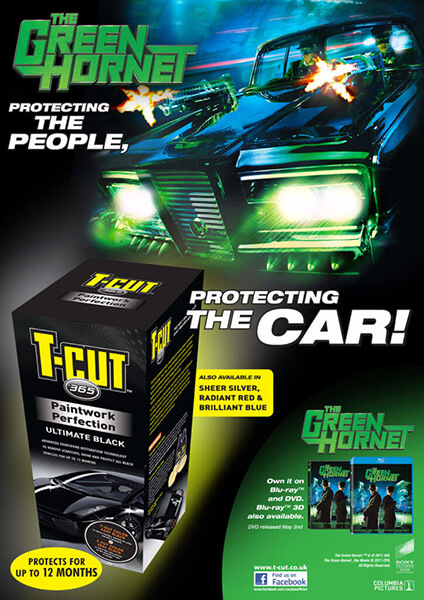 Green Hornet and T-Cut Poster