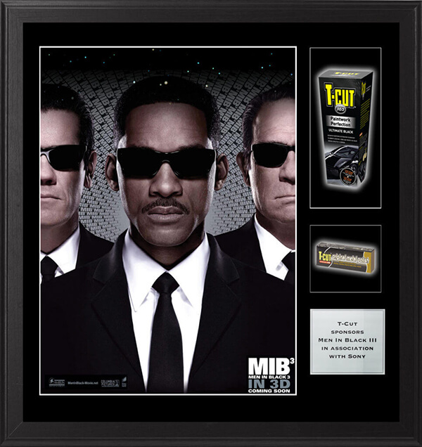 Men in Black framed movie poster