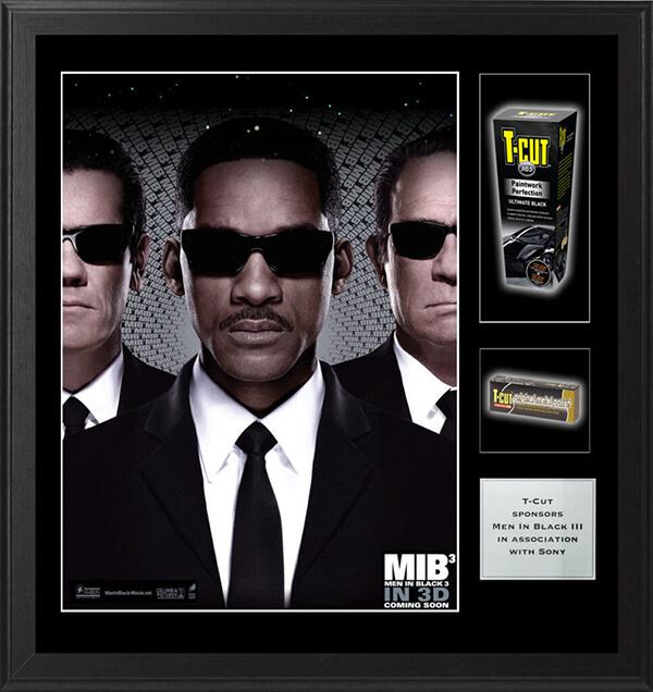 Men in Black framed movie poster